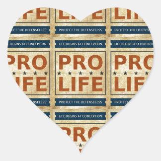 Pro Life Billboard Heart Sticker