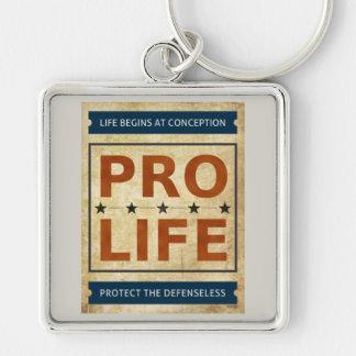 Pro Life Billboard Keychain