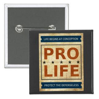 Pro Life Billboard Pinback Button