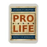 Pro Life Billboard Rectangular Magnets