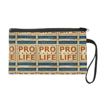 Pro Life Billboard Wristlet