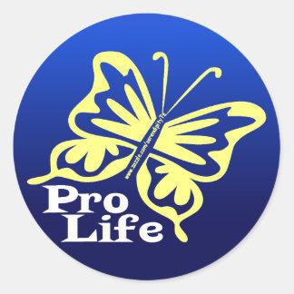 Pro Life Classic Round Sticker