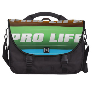 Pro Life Collage Commuter Bag