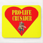 PRO LIFE CRUSADER MOUSE PAD