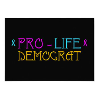 Pro-Life Democrat Card