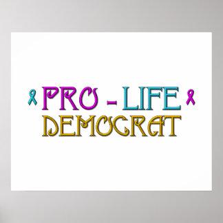 Pro-Life Democrat Poster