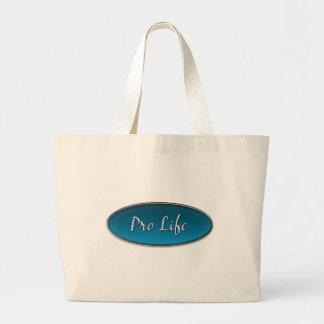 Pro Life Emblem Tote Bags