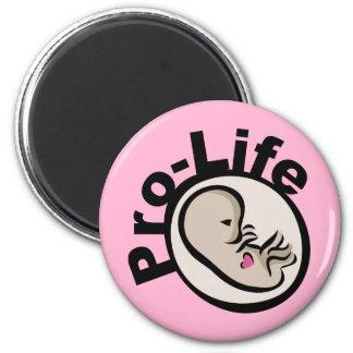 Pro-Life Fetus Design Magnet