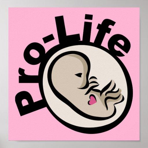 Pro-Life Fetus Design Poster