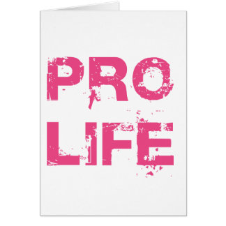 Pro Life Greeting Cards