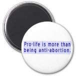 Pro-Life is More Than Anti-Abortion Fridge Magnets