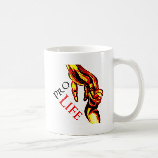 Pro Life Classic White Coffee Mug