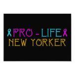 "Pro-Life New Yorker 3.5"" X 5"" Invitation Card"