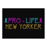 "Pro-Life New Yorker 5"" X 7"" Invitation Card"