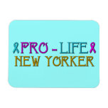 Pro-Life New Yorker Rectangle Magnets