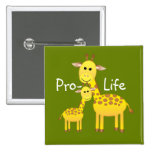 Pro-Life Pinback Buttons