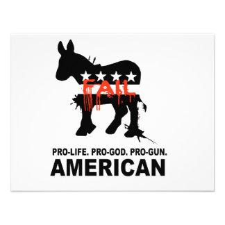 Pro-life Pro-God Pro-Gun American Announcement