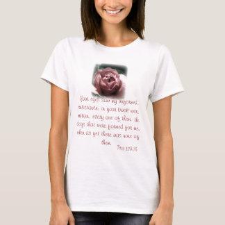 Pro Life- Psa 139:16 T-Shirt