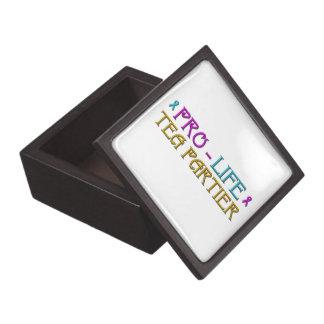 Pro-Life Tea Partier Jewelry Box