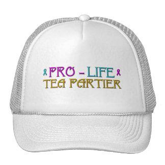 Pro-Life Tea Partier Trucker Hat