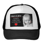 Pro-Life Voice for the Voiceless Mesh Hat