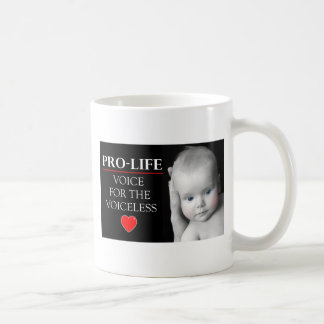 Pro-Life Voice for the Voiceless Coffee Mug