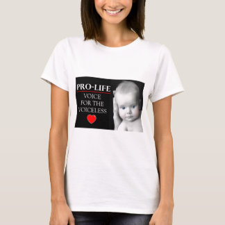 Pro-Life Voice for the Voiceless T-Shirt