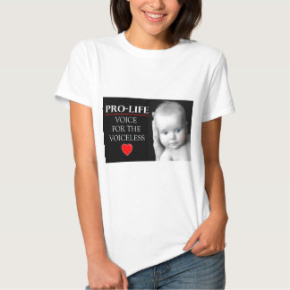 Pro-Life Voice for the Voiceless Tshirts