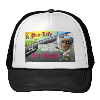 Pro-Life vs. Pro-Death Mesh Hat
