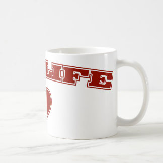 Pro Life with Heart Mugs