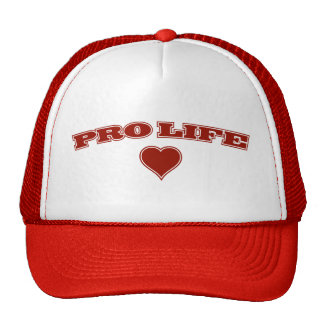 Pro Life with Heart Trucker Hat