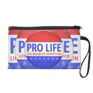 Pro Life Wristlet Purse