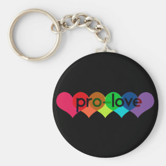 Pro Love say no to prop 8 h8 Keychain