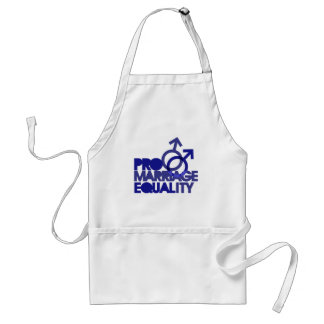 Pro Marriage Equality Adult Apron