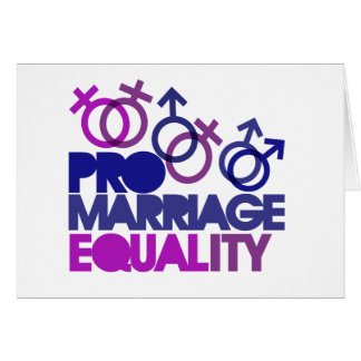 Pro marriage equality cards