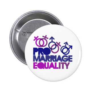 Pro marriage equality pinback button