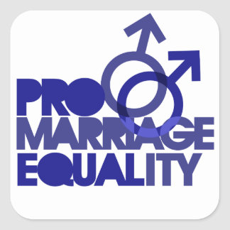 Pro Marriage Equality Stickers