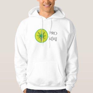 Pro MMJ Medical Cannabis Green Cross Hoodie