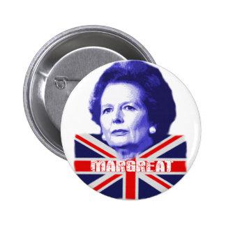 Pro Mrs Thatcher Pinback Buttons