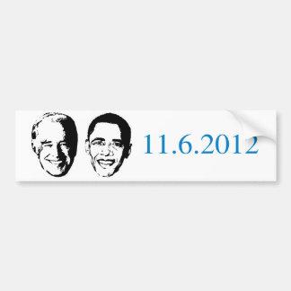 Pro-Obama - 11-6-2012 Bumper Sticker