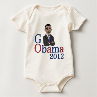 Pro Obama Baby Bodysuit