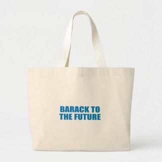 Pro-Obama - BARACK TO THE FUTURE Canvas Bags