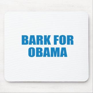 Pro-Obama - BARK FOR OBAMA Mouse Pads