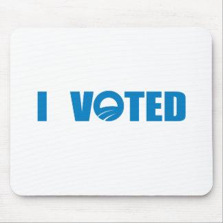 Pro-Obama - I VOTED Mouse Pads