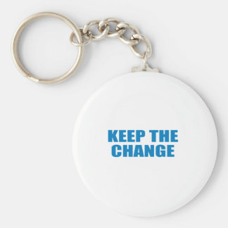 Pro-Obama - KEEP THE CHANGE Key Chains