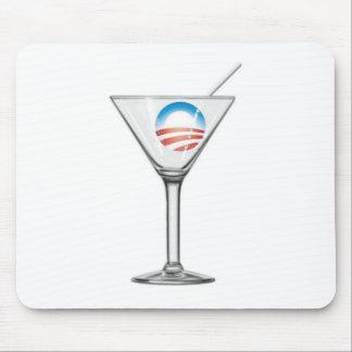 Pro-Obama Martini Mousepad