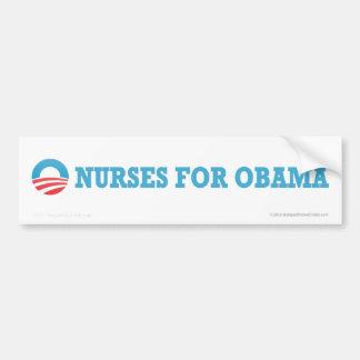 Pro-Obama Nurses Bumper Stickers