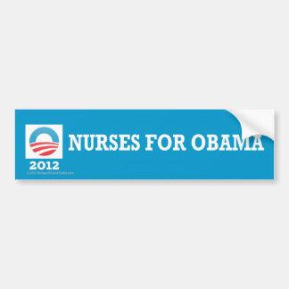 Pro-Obama Nurses for Obama Bumper Stickers