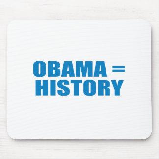 Pro-Obama - OBAMA HISTORY Mouse Pads