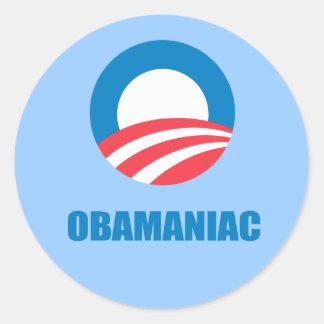 Pro-Obama - OBAMANIAC Sticker